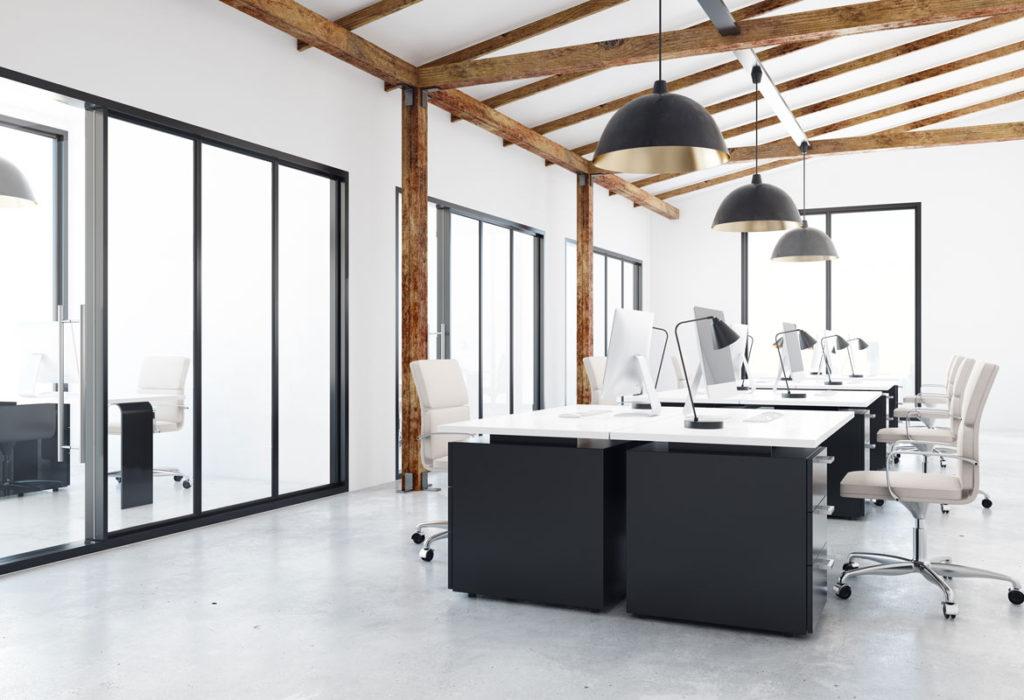 progettazione dell'ufficio ideale