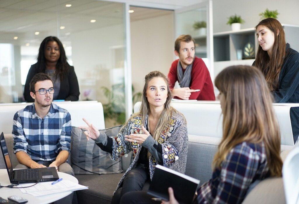 allestire uno spazio per il co-working