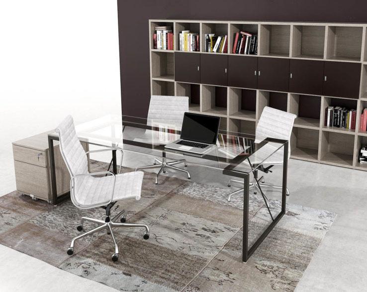 linea-Elite-mobili-direzionali-scrivania-libreria-e-contenitore