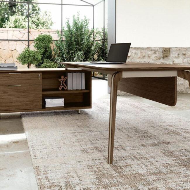 linea-Lux-mobili-direzionali-scrivania-legno