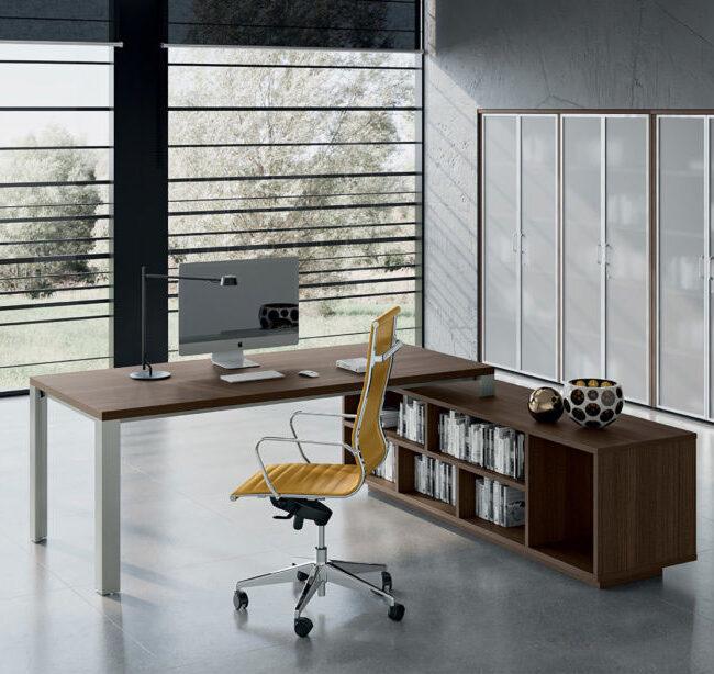 linea-Star-mobili-direzionali-scrivania-con-contenitore-legno