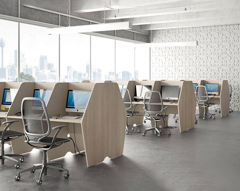 mobili-per-ufficio-linea-call-Center-pratiko-open-space-e-call-Center