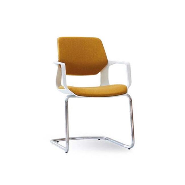 Planoffice-Arredo-per-ufficio-collezione-ONDA-sedia-per-ufficio-waiting-rivestita-tessuto-ocra-braccioli-plastica-EVIDENZA