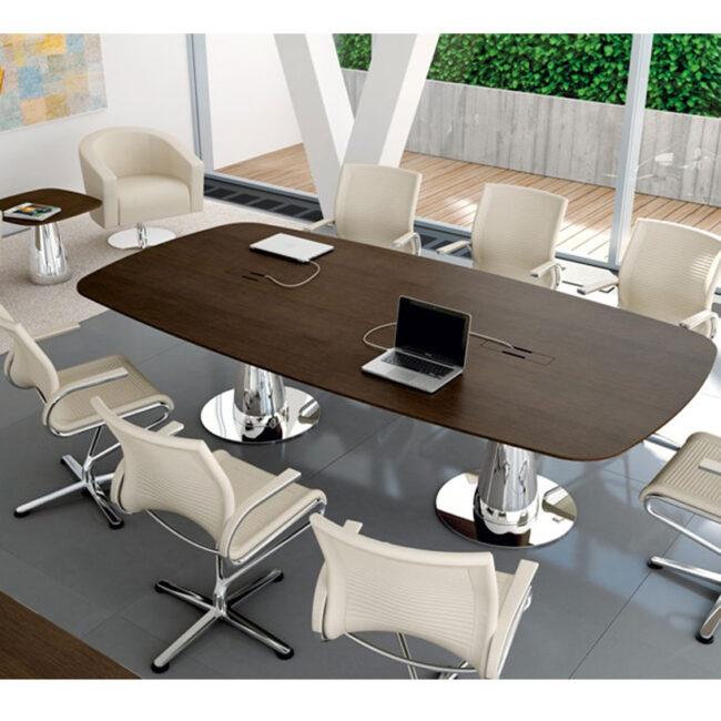 arredo-mobili-per-ufficio-linea-Venus-tavoli-riunione-tavolo-per-conferenza-stondato-legno-wenge