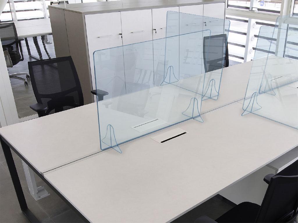 pannelli protettivi plexiglass per contenimento covid-19