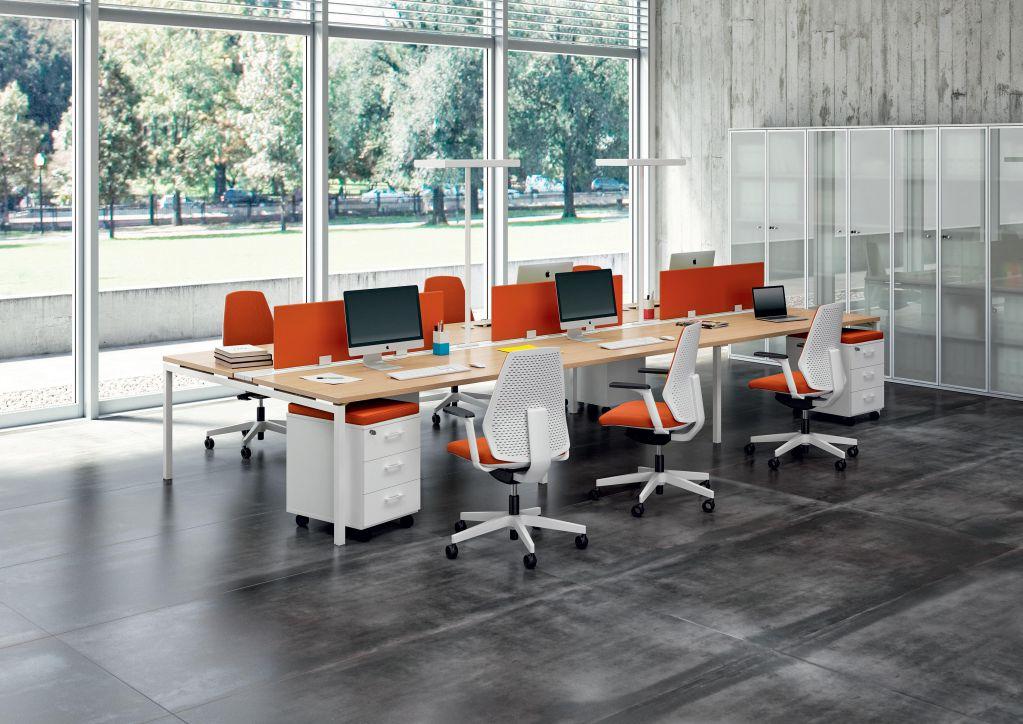 Planoffice-Arredo-per-uffici-collezione-SIENA-sedia-da-ufficio-girevole-seduta-ergonomica-arancione