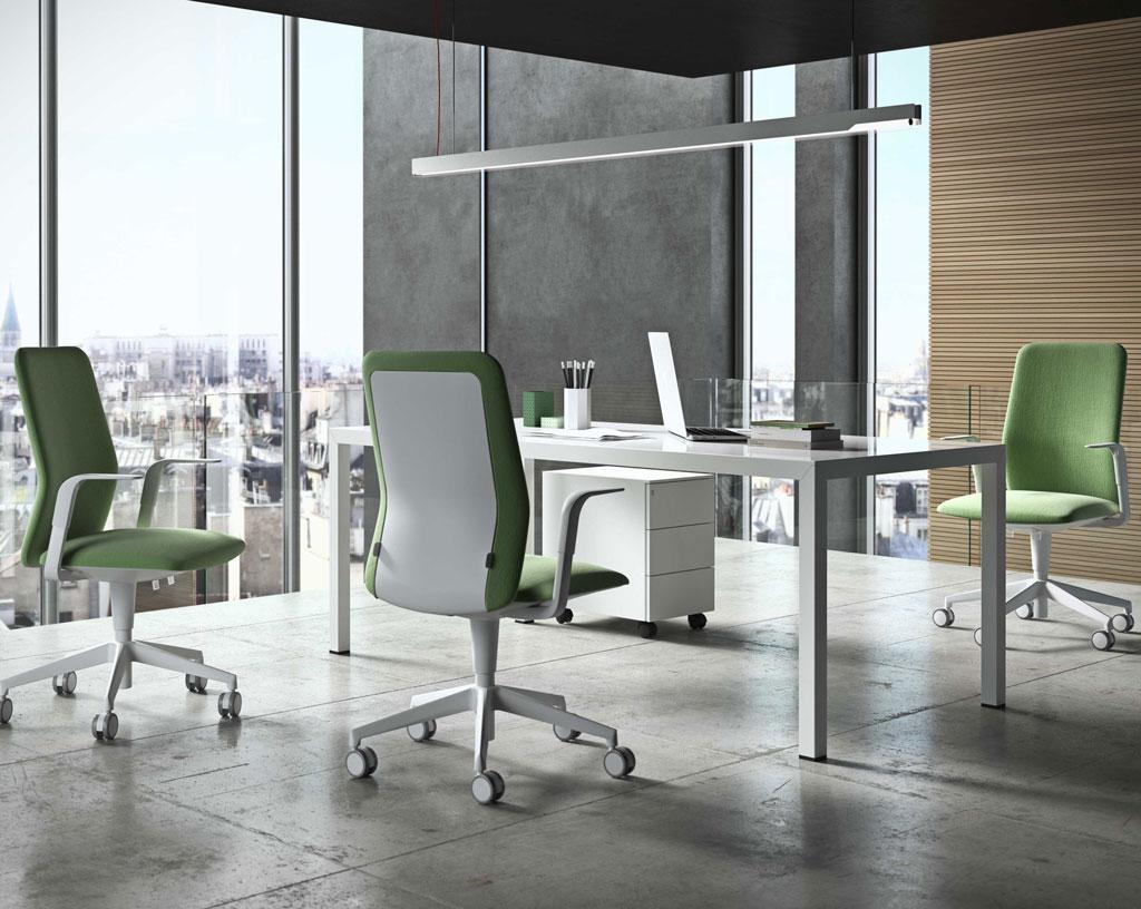 FLORIDA-sedia-girevole-ufficio-verde-chiaro-rivestita-tessuto