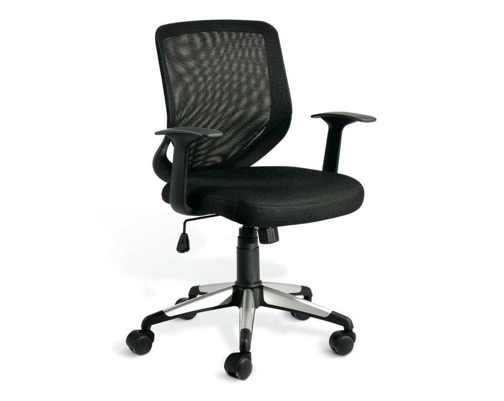 FUTURA-sedia-operativa-rivestita-tessuto-nero-schienale-ergonomico