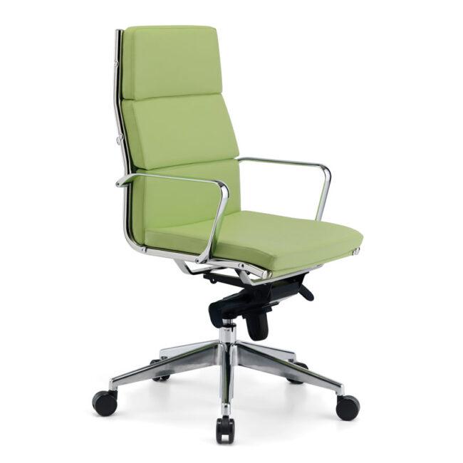 New-York-sedute-per-ufficio-sedie-executive-poltrona-verde-pelle