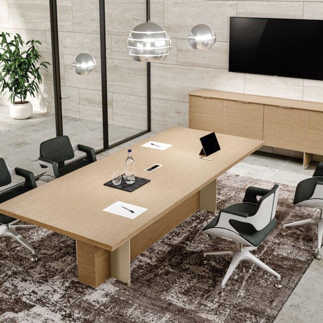 Planet-tavoli-riunione-tavolo-da-riunione-con-lati-stondati-in-legno
