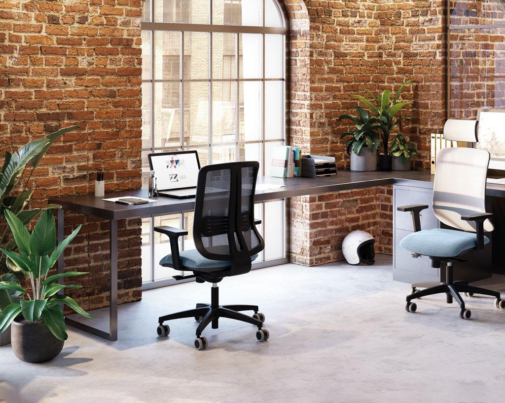 TEMPO-sedia-operativa-colorata-poggiatesta-regolabile-girevole