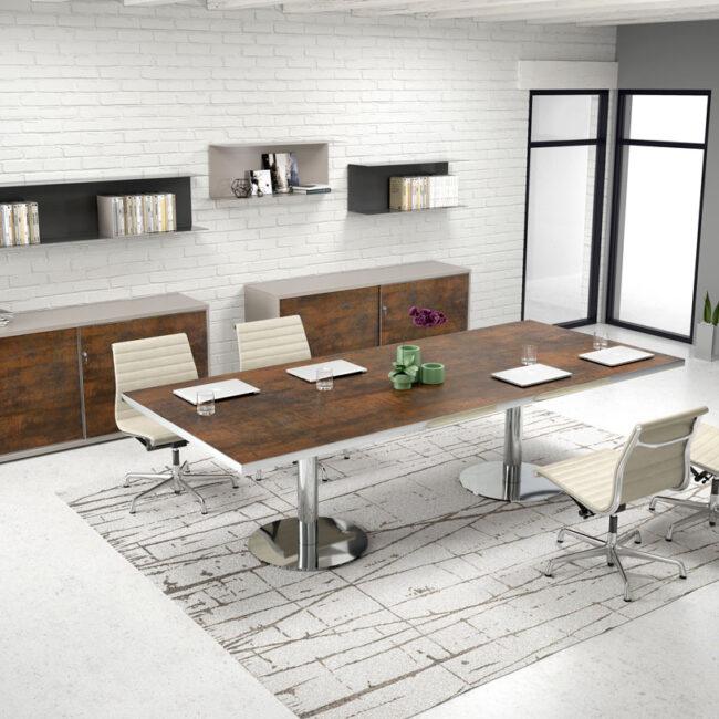 linea-Fashion-mobili-direzionali-tavolo-per-assemblea-di-le