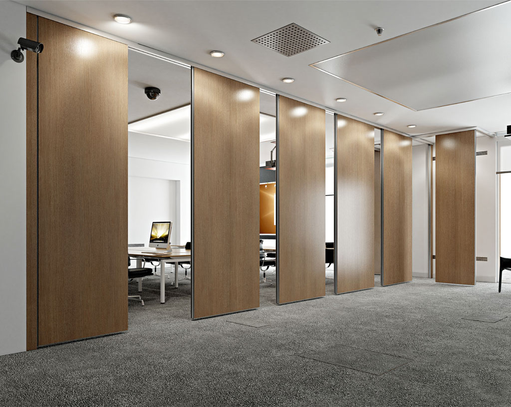 plan-roll - manoeuvrable partitions for partitioning off office space