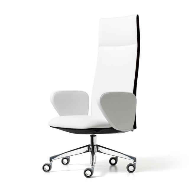 sedia-direzionale-executive-bianca-Land