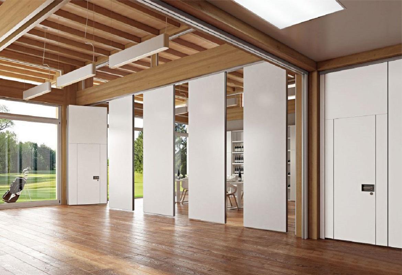 pareti manovrabili per ufficio